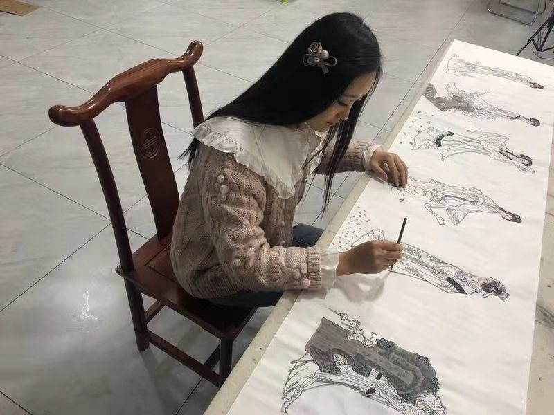 中华国礼艺术家朱柳莉